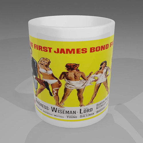 James Bond Thunderball Movie Poster Mug