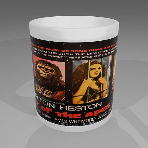 Planet Of The Apes Movie Poster Mug