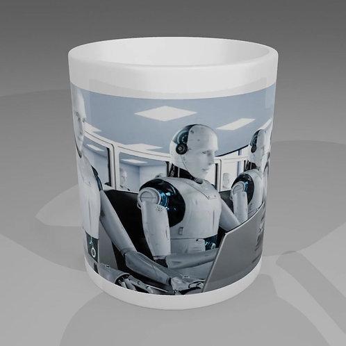 Robot Workers Mug