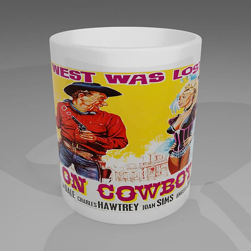 Carry On Cowboy Movie Poster Mug