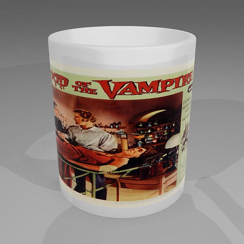 Blood Of The Vampire Movie Poster Mug