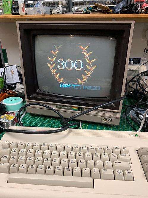Commodore 1701 boxed monitor great condition