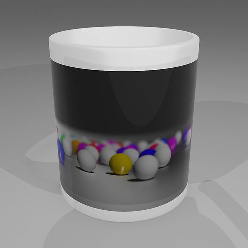 Colour Marbles Mug