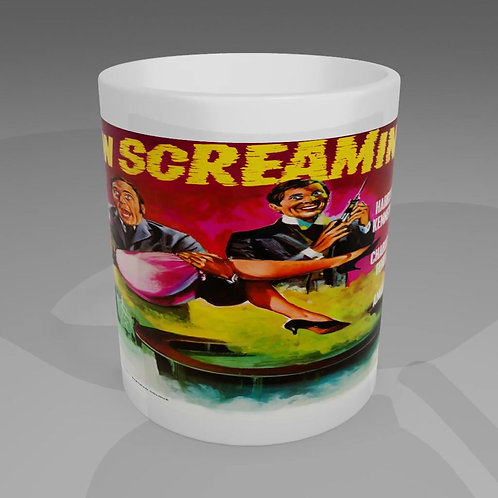 Carry On Screaming Movie Poster Mug