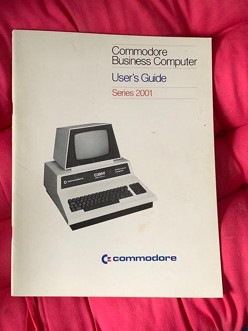 Commodore pet user guide series 2001