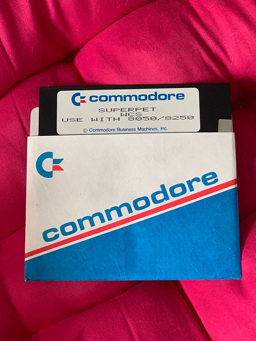 Commodore superpet wcs 8050/8250 floppy