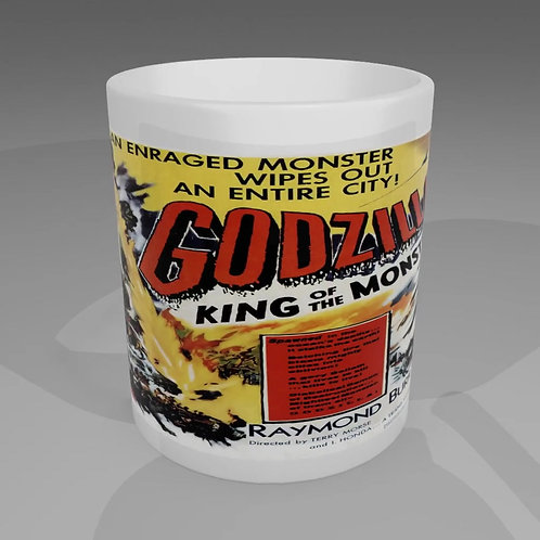 Godzilla King Of The Monsters Movie Poster Mug