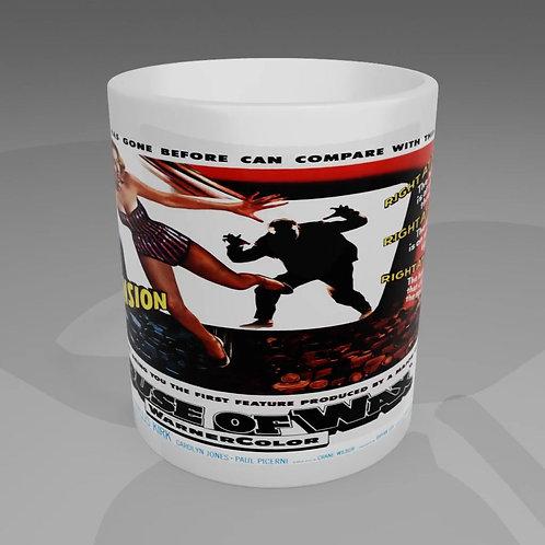 House Of Wax Movie Poster Mug
