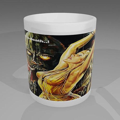 Prisoner Of The Cannibal God Movie Poster Mug