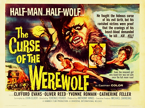 The Curse Of The Werewolf Movie Poster M