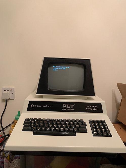 Commodore pet 2001-n refurbished gold ceramic memory