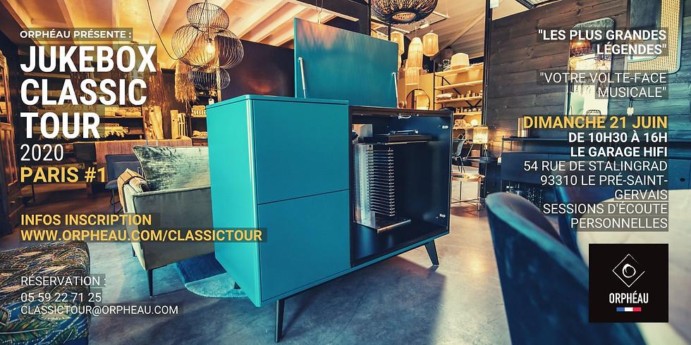 JUKEBOX CLASSIC TOUR - PARIS