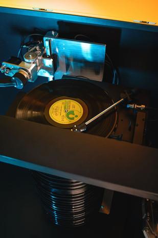 Montée du disque