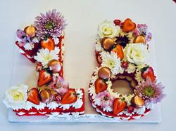 Floral Sheetcake