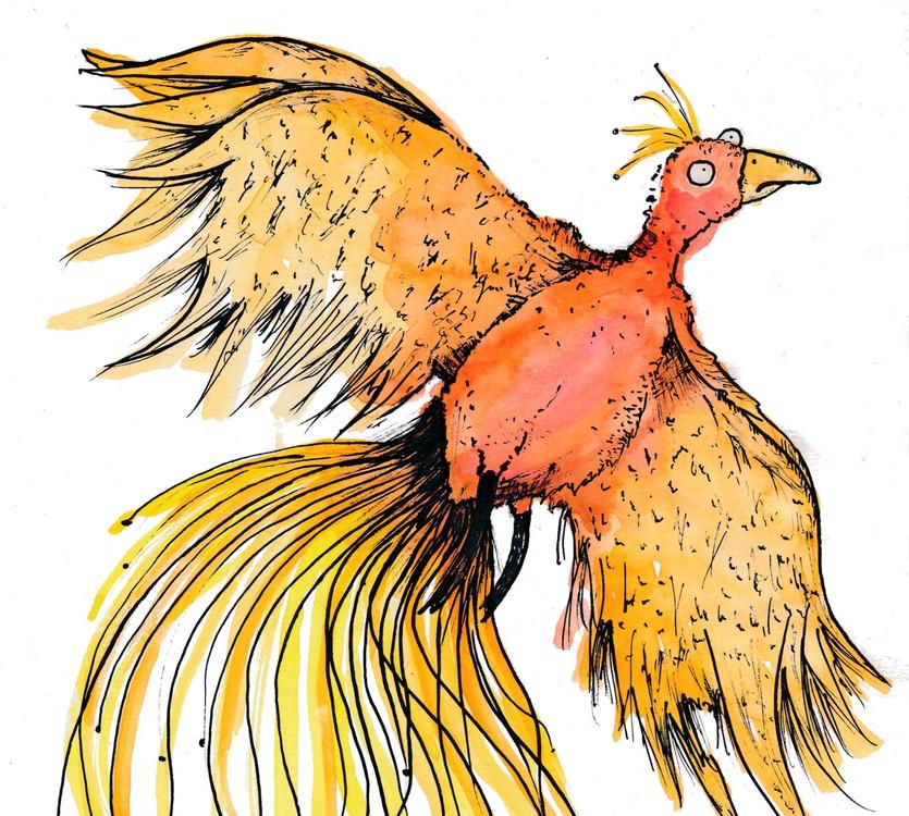 Gladis the Phoenix