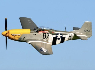 "North American Mustang P-51D ""Ferocious Frankie"""