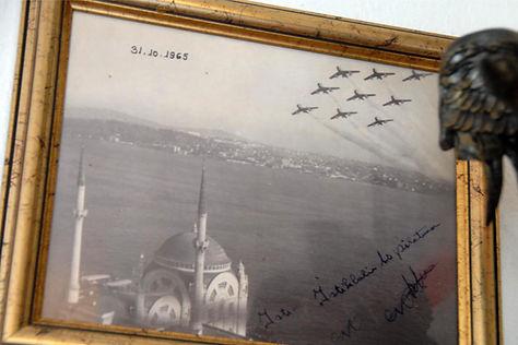 31 Ekim 1965 - Akrotim Dolmabahçe Üzerinde