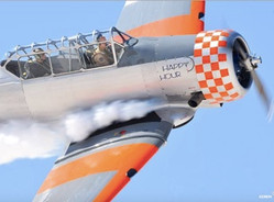 "North American T-6G Texan ""Happy Hour"""