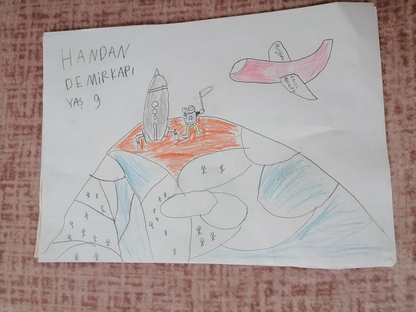 Handan Demirkapı- 9 yaş