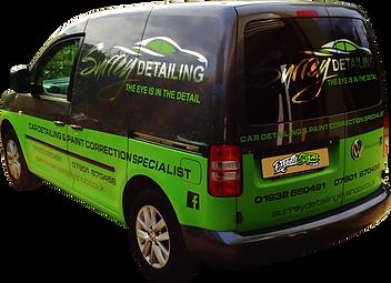 Surrey Detailing Van