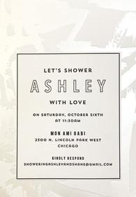 Ashley Bridal Shower