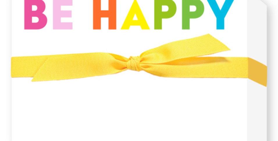 Be Happy Notepad