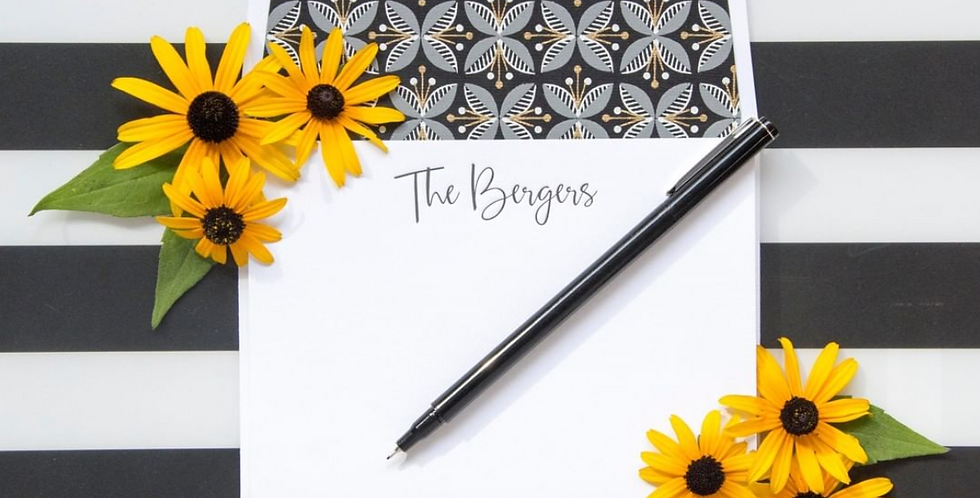 Bergers Stationery Set