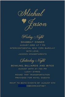Micah & Jason Wedding Weekend