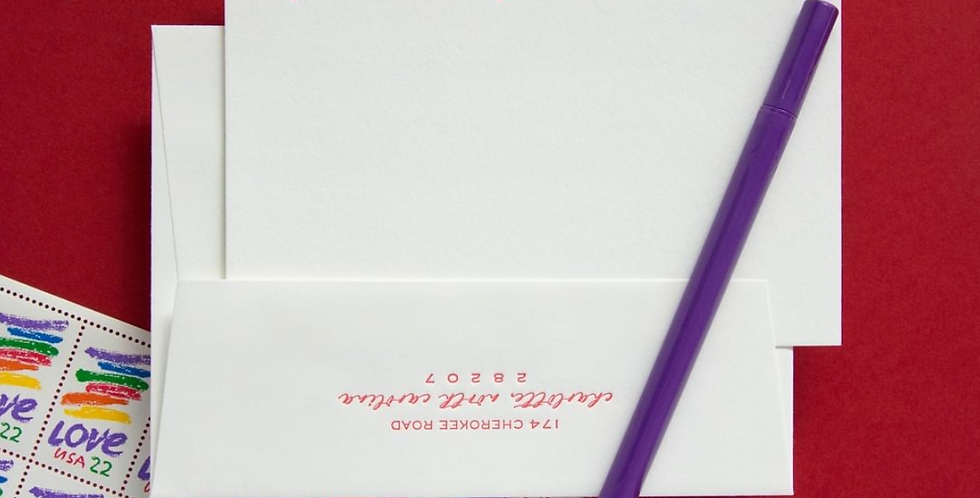 Griffith Stationery Set