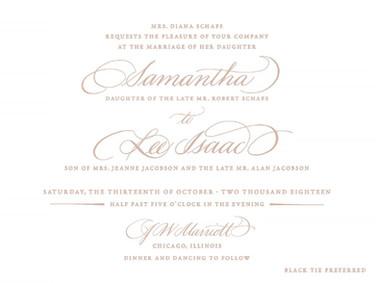 Samantha & Lee Wedding