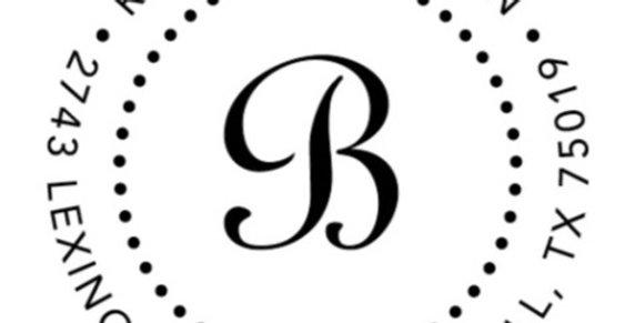 Benson Address Stamper