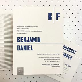 Benjamin Daniel Bar Mitzvah