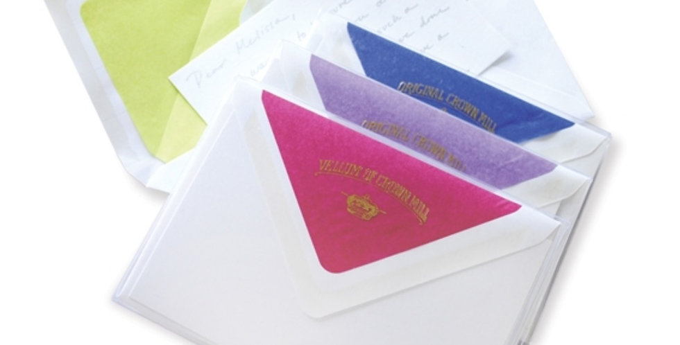 Silks of Crown Mill Stationery
