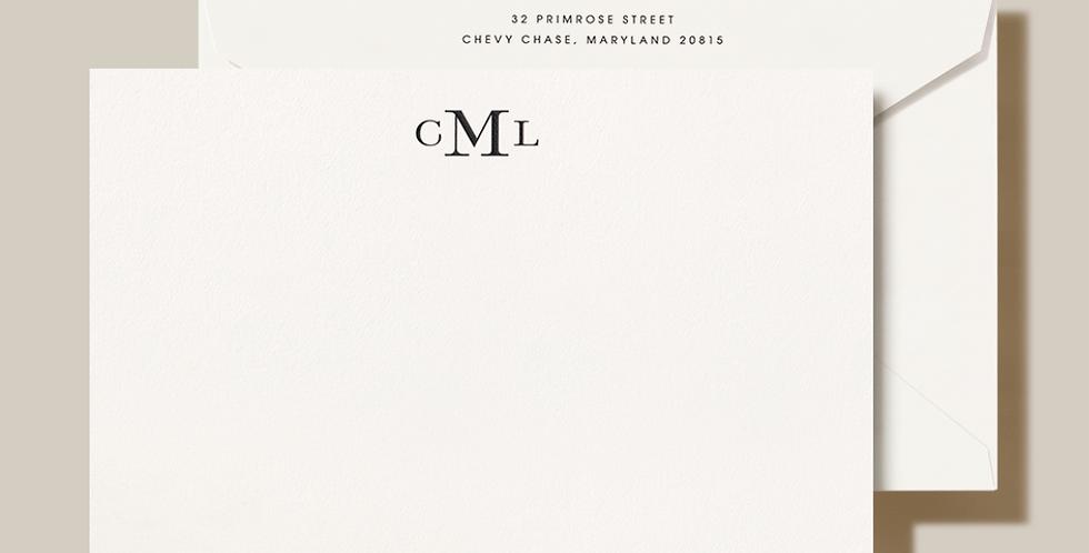 CML Monogram Stationery Set