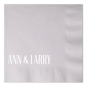 Ann & Larry Napkin