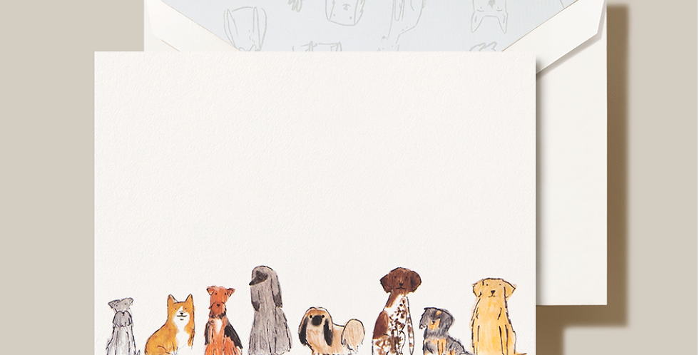 Dogs Note Card Set