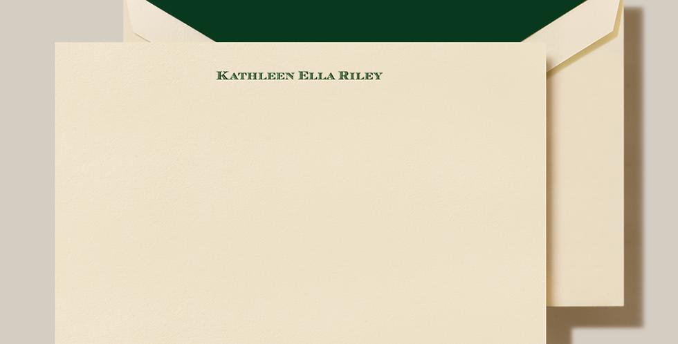 Kathleen Riley Stationery Set