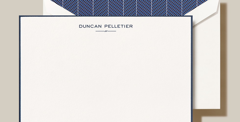 Duncan Pelletier Stationery Set