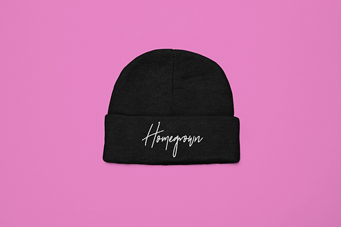 Homegrown Embroidered Beanie