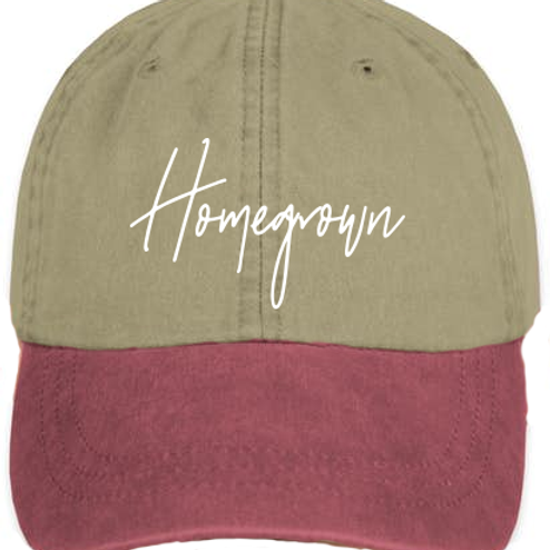 Homegrown Embroidered Cap
