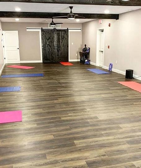 Yoga Studio at Massage at Moon River Wellness Center, Pelham, NH