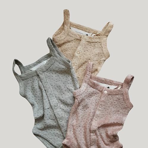 Tielkové Body Teddy Bear / rôzne farby