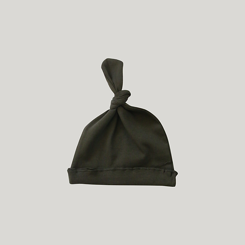 Knotted Hat / OLIVE