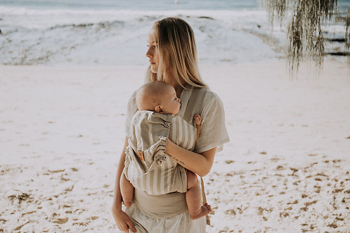 Snap Baby Carrier / Natural Stripe