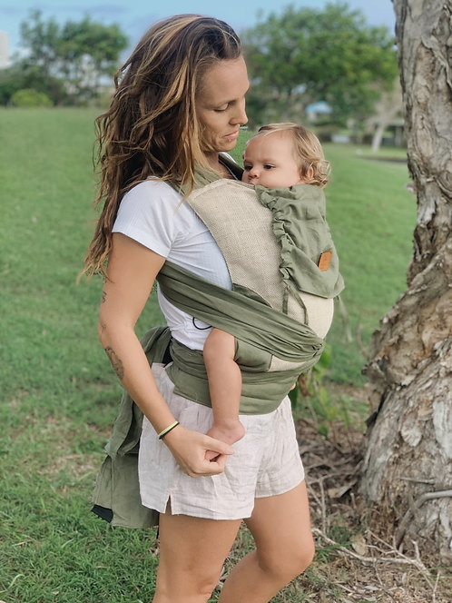 Wrap Baby Carrier / Eucalyptus