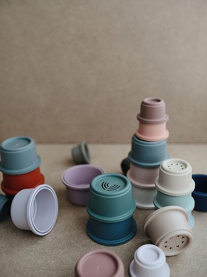 Skladacia veža mushie / rôzne farby