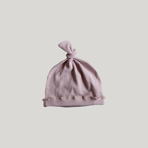 Knotted Hat / BLUSH