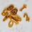 Thumbnail: Narodeninové sviečky z včelieho vosku / čísla 0-9