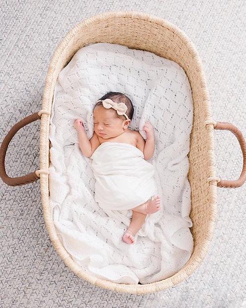 Mojžišov kôš pre bábätko / Nap&Pack / Natural