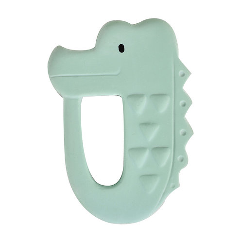 Natural Rubber Teether / Crocodile